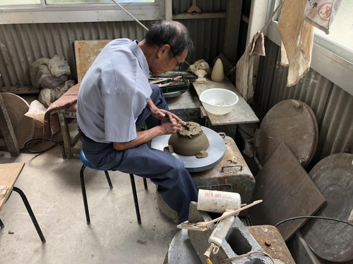 平山窯作業その1